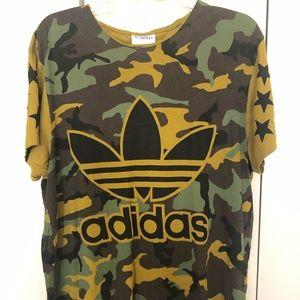 Adidas x Jeremy Scott Camo T-Shirt XL